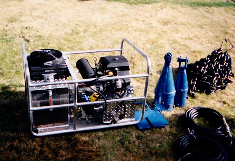 UCMC LLC  - TTS Northwest - Pipe Bursting Equipment